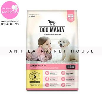 Thức ăn hạt cho chó con Dog Mania Puppy
