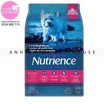 Thức ăn hạt cho chó trưởng thành kích thước nhỏ Nutrience Original (2.5 Kg)