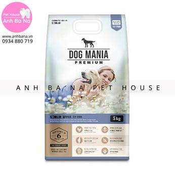 Thức ăn hạt cho chó mọi lứa tuổi Dog Mania (5 Kg)