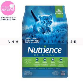Thức ăn hạt cho mèo con Nutrience Original (1.13 Kg)