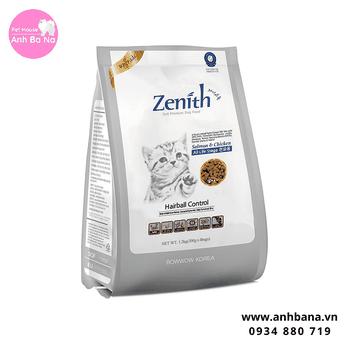 Thức ăn hạt mềm cho mèo Zenith 1.2 Kg