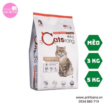 Thức ăn hạt khô cho mèo mọi lứa tuổi Catsrang
