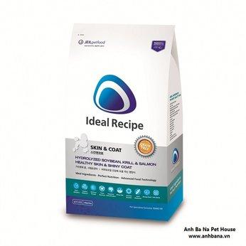 Thức ăn Ideal Recipe Skin & Coat hỗ trợ da lông