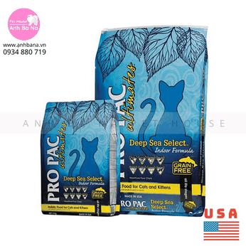 Thức ăn mèo Pro Pac Deep Sea Select Indoor Formula 2 KG
