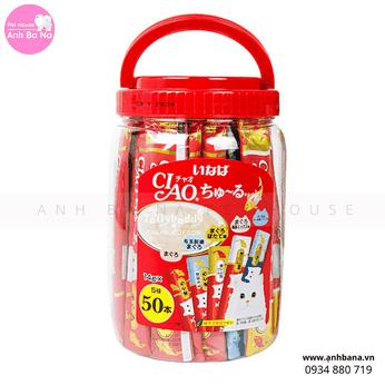 Sốt cho mèo Ciao Churu hộp 50 gói