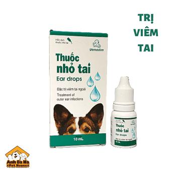 Thuốc trị viêm tai chó mèo Vedemin 10ml