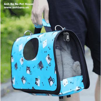 Túi xách chó mèo (Có dây đeo)