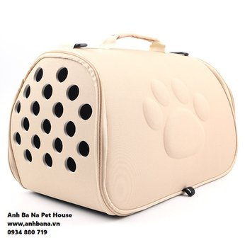 Túi đeo chó mèo cao cấp (Dấu chân chó)