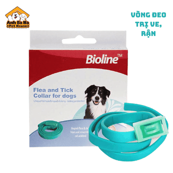 Vòng trị ve, rận cho chó Bioline