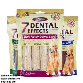Bánh gặm cho chó 7 Dental Effects 100 gram