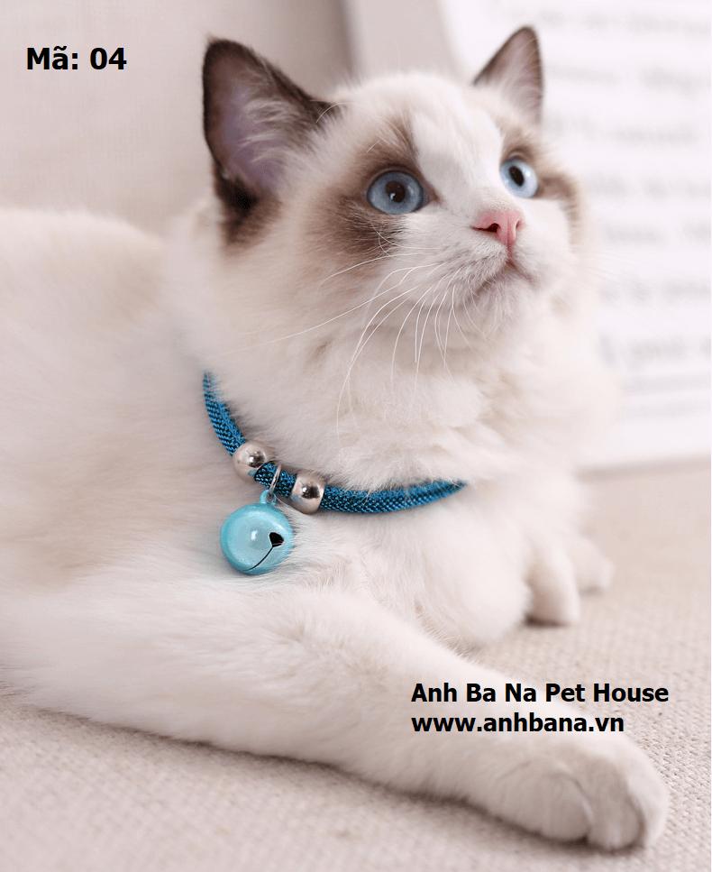 Vòng đeo cổ chó mèo loại cao cấp