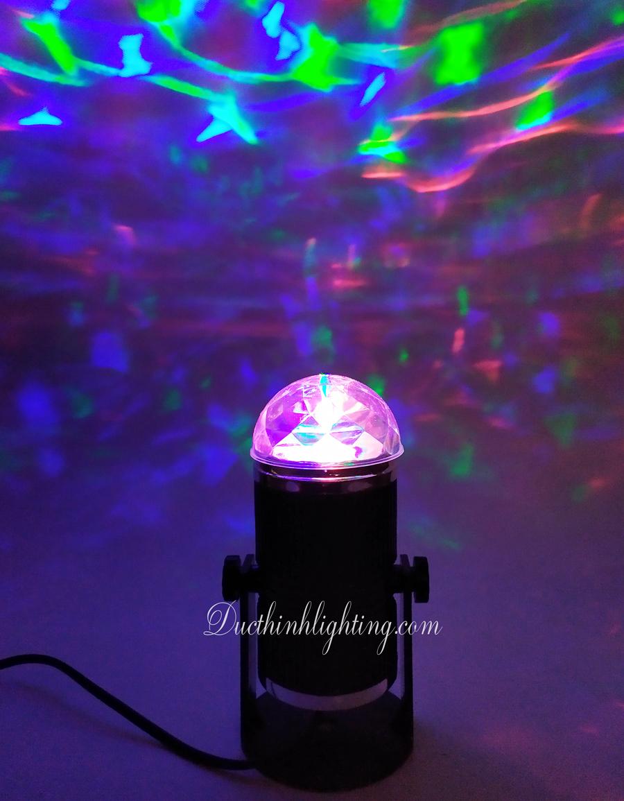 Đèn LED Xoay Nhiều Màu SC 001