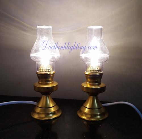 Đèn Dầu LED Nhôm 220V