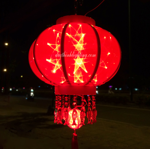 Lồng Đèn LED 3D 4 tấc