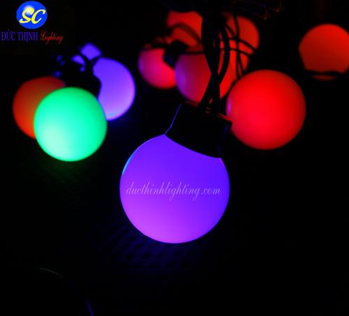 Dây Đèn LED Bi 4 Cm Đủ Màu