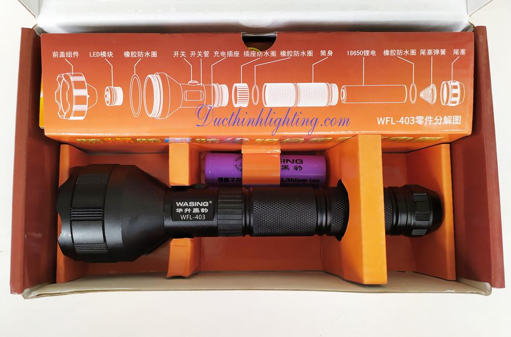 Đèn Pin LED Siêu Sáng Wasing WFL-403