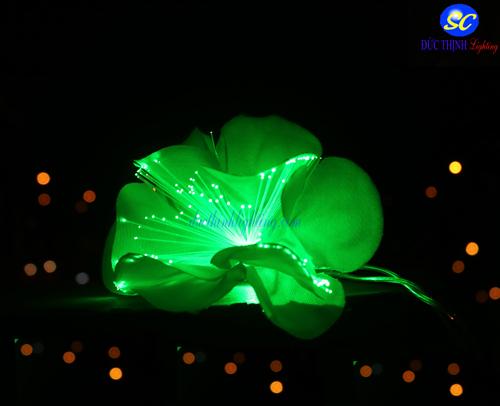 Dây Đèn LED Hoa Xanh Neon