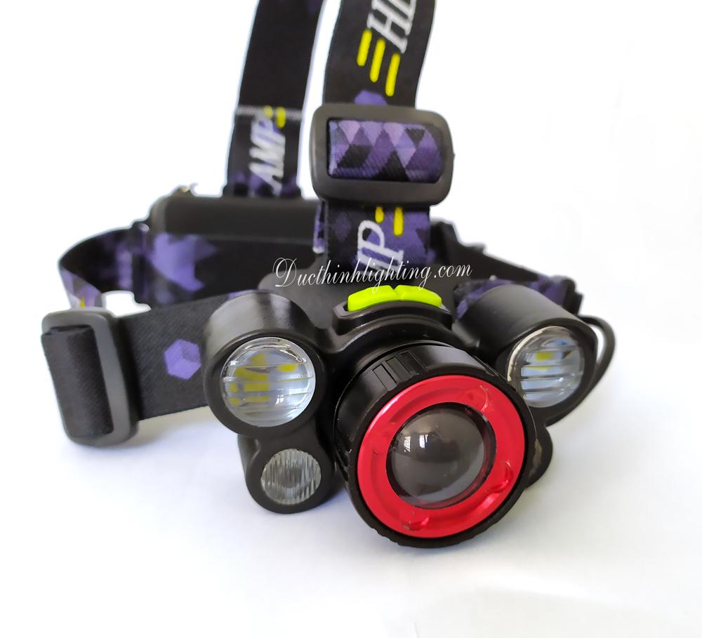 Đèn Pin Đội Đầu LED Siêu Sáng DR-8816
