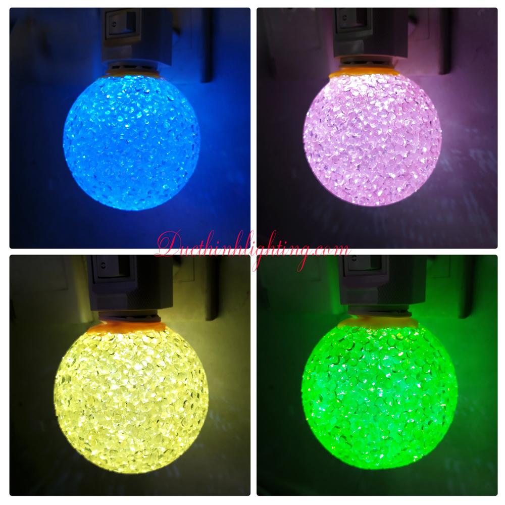 Đèn Ngủ Cầu LED Dạ Quang