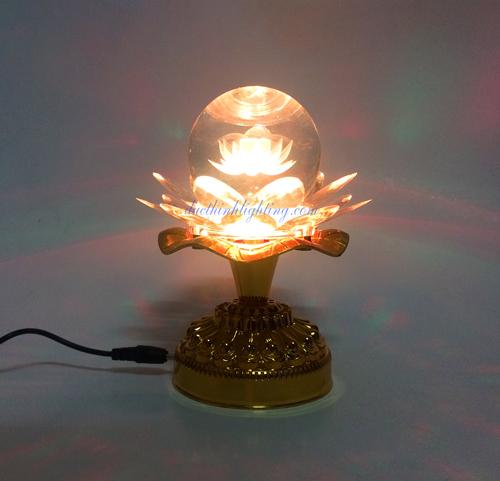 Đèn Cầu Pha Lê LED Phát Nhạc