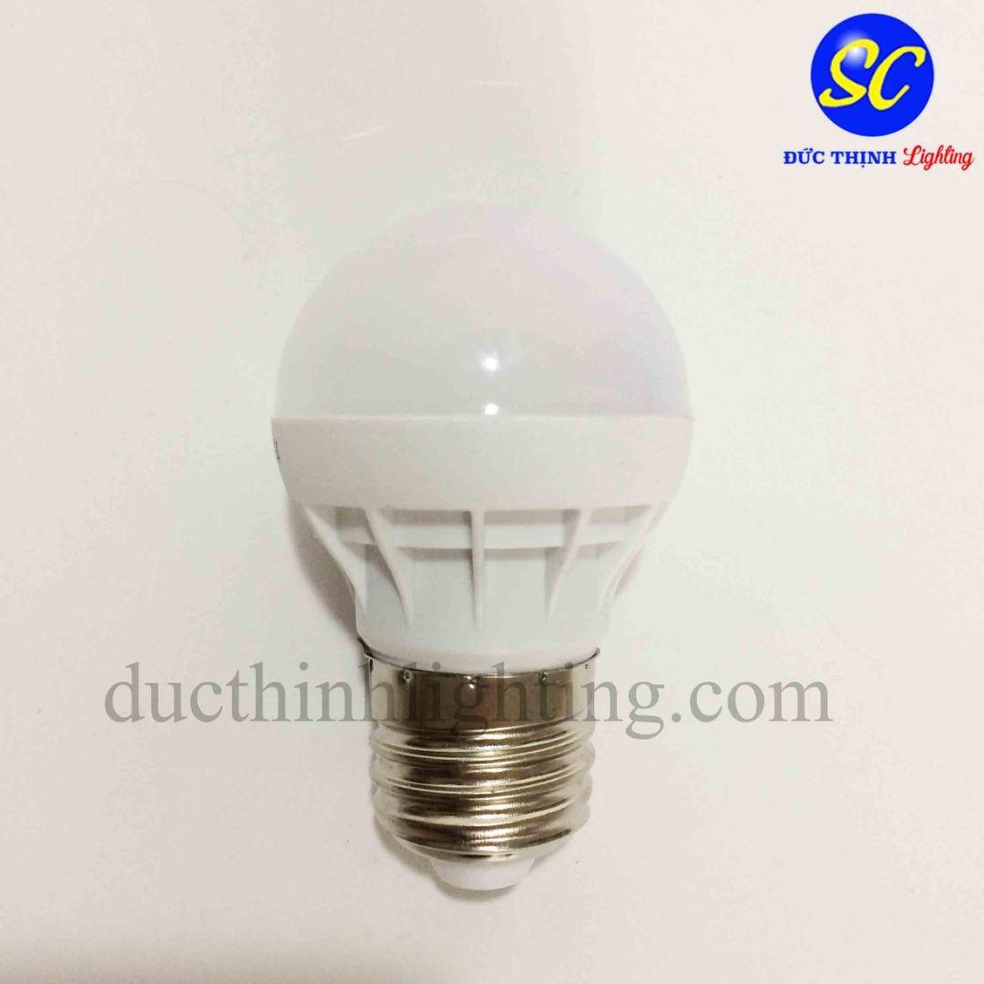Bóng đèn búp LED 3W hiệu quả, tiết kiệm chi phí - DucThinhLighting.com