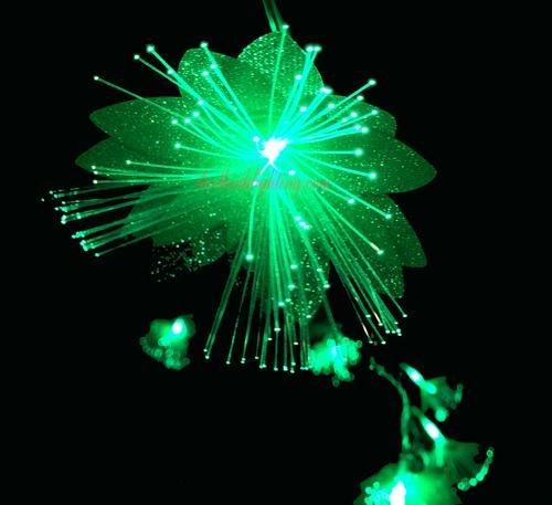 Dây Đèn LED Hoa Lan Hồ Điệp  Xanh Lá