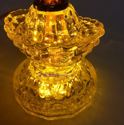 Đèn CầyLED Số 5 Vàng
