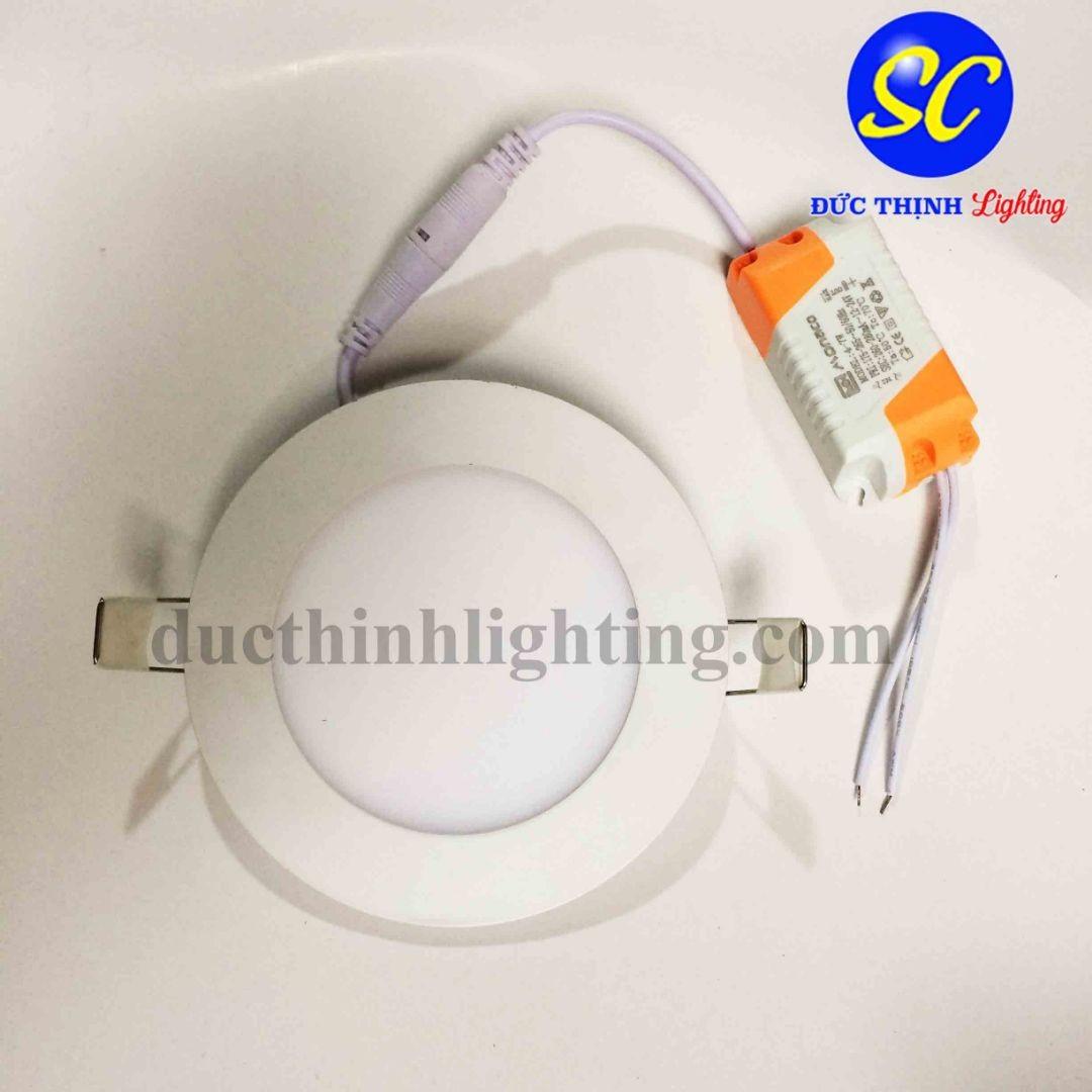 Đèn LED âm trần siêu mỏng 9W chiếu sáng tiện nghi - DucThinhLighting.com