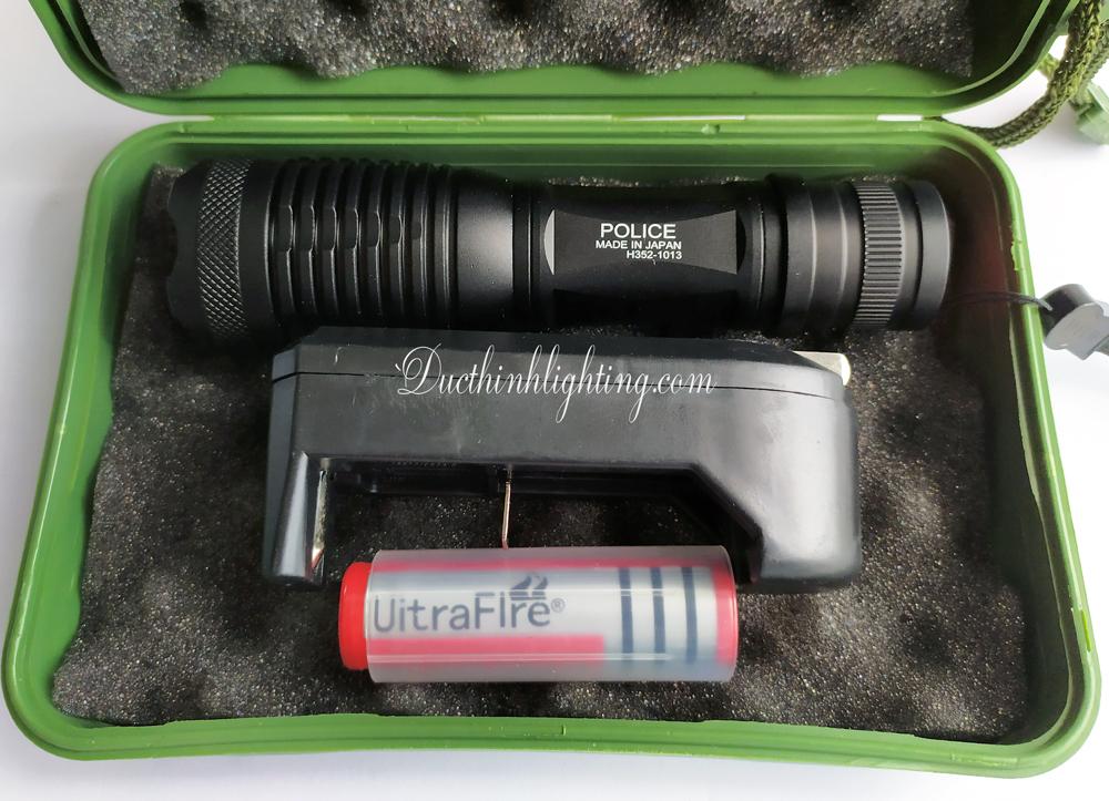 Đèn Pin LED Siêu Sáng Police H352 1013