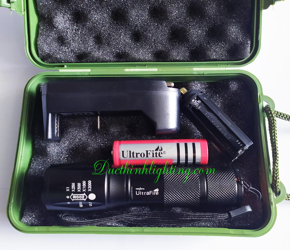 Đèn Pin LED Siêu Sáng Ultrafire H352