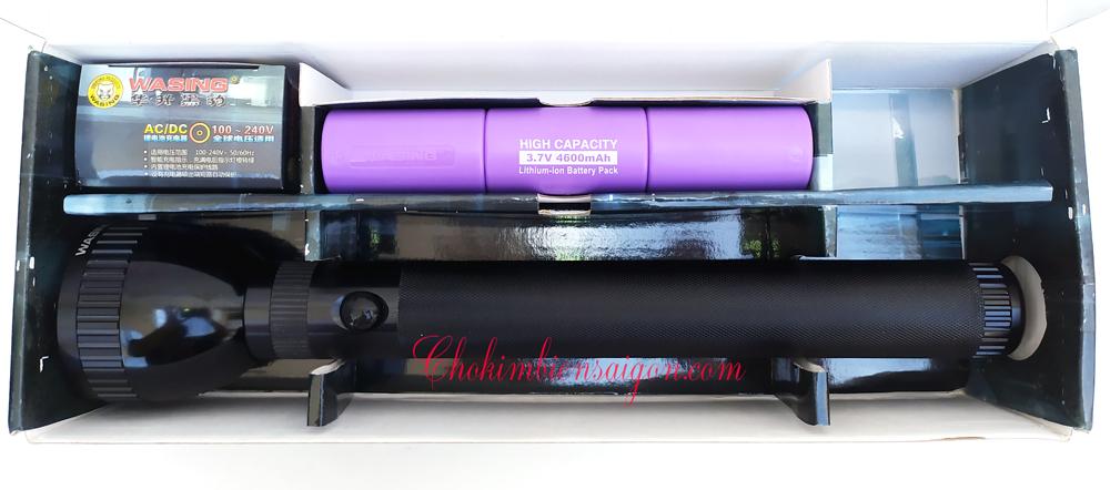 Đèn Pin LED Siêu Sáng Washing WFL-H4