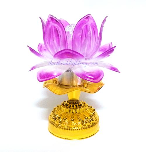 Đèn Sen LED Nhạc Phật