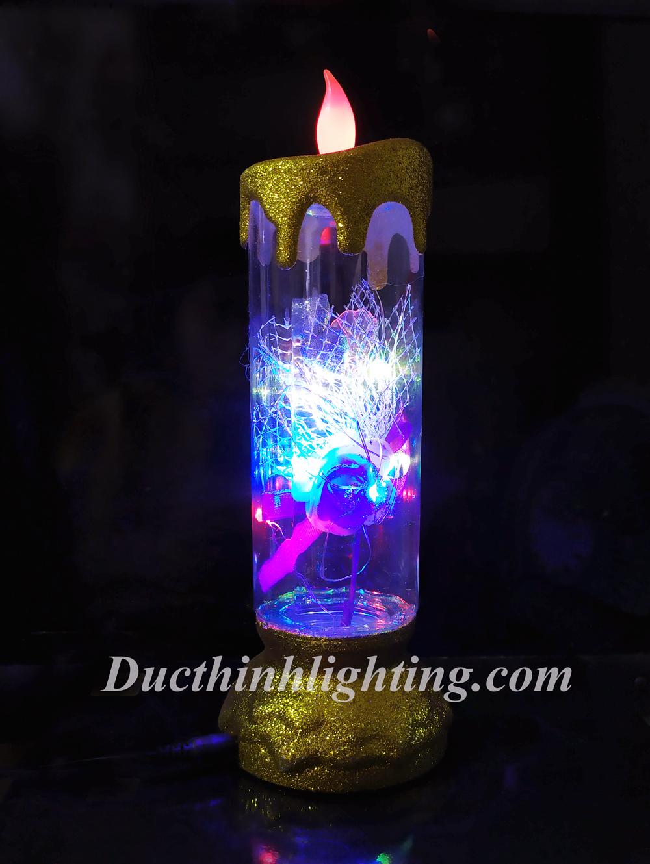 Đèn Cầy LED Nhiều Màu