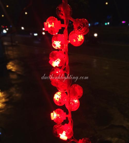Pháo Lồng Đèn LED Trang Trí Ngày Tết