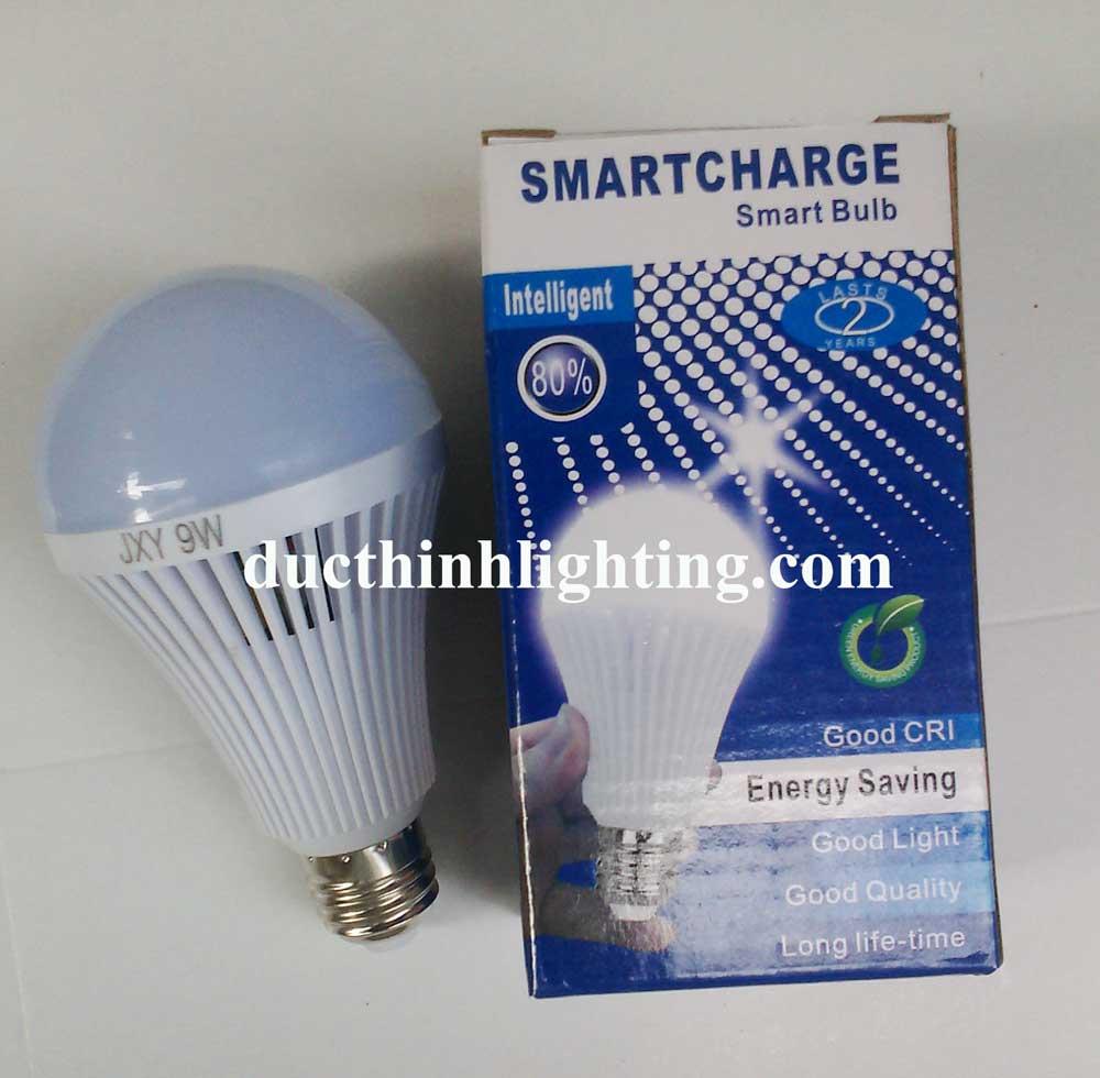 Bóng Đèn Búp LED Tích Điện 9W
