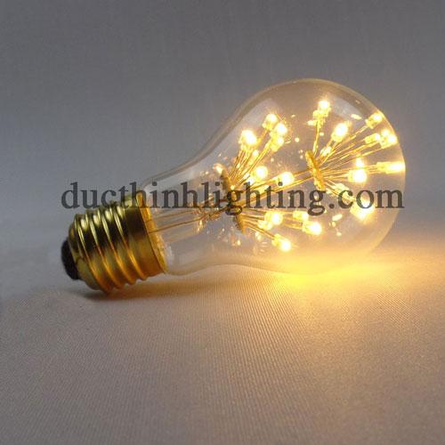 Bóng Đèn LED Edison A60 2 Tầng Bông