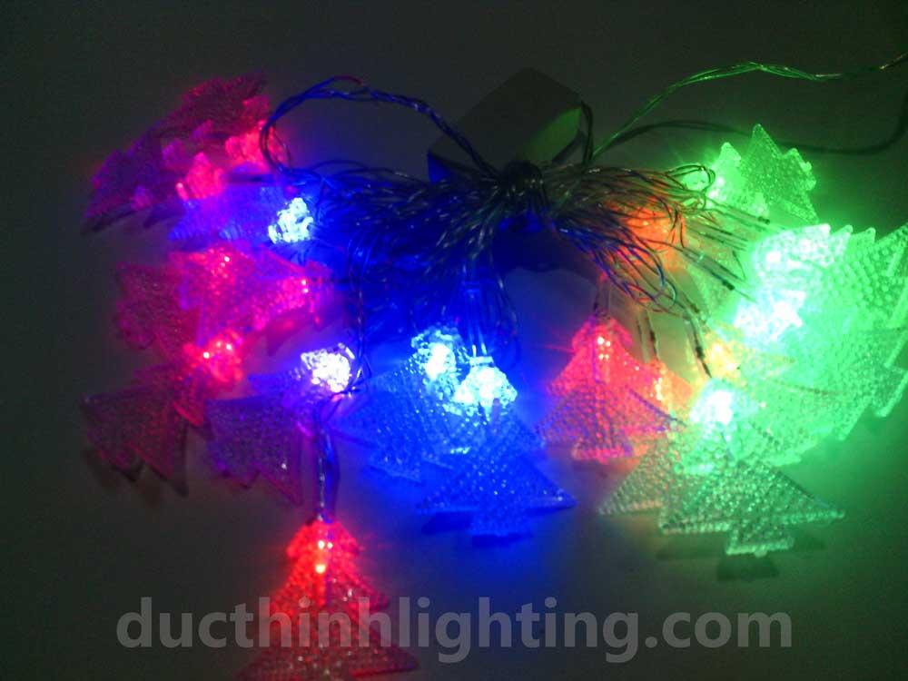 Dây Đèn Chớp LED Hình Cây Thông