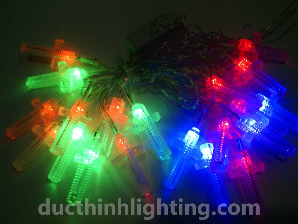 Dây Đèn Chớp LED Hình Thánh Giá