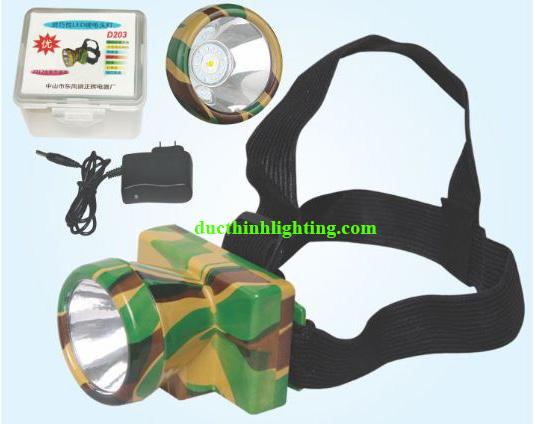 Đèn Pin Đội Đầu LED Siêu Sáng D203