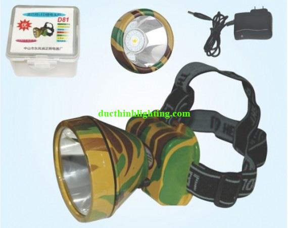 Đèn Pin Đội Đầu LED Siêu Sáng D81