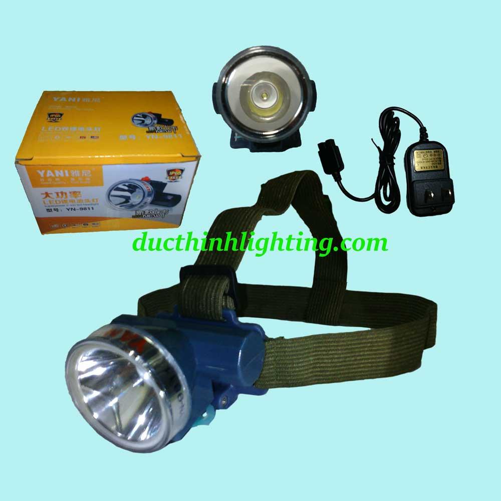 Đèn Pin Đội Đầu LED Siêu Sáng YN-9811