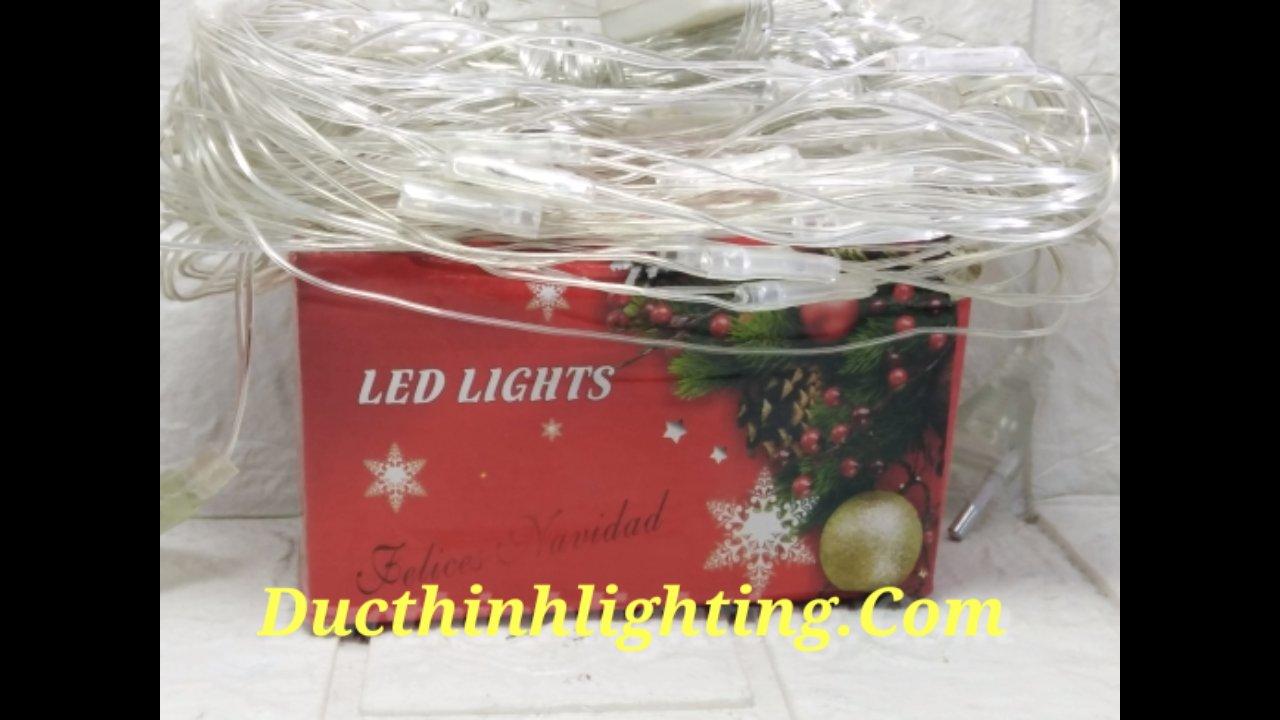Đèn led dây lưới vàng ấm 1m5