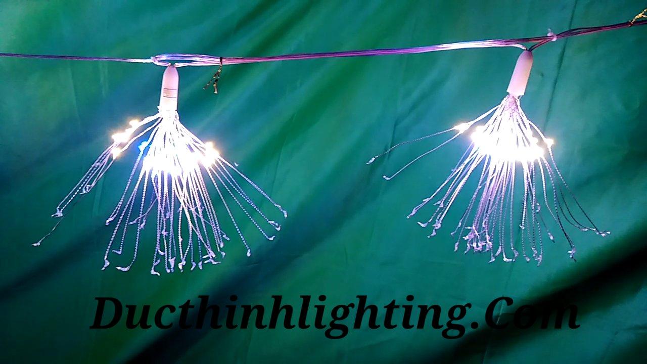 Bộ 5 đèn led pháo hoa điện tử