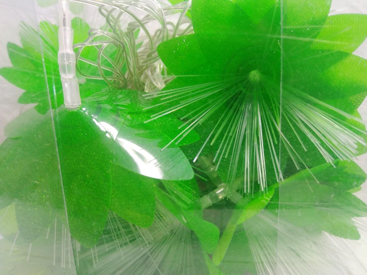 Đèn led dây hoa gạo xanh lá