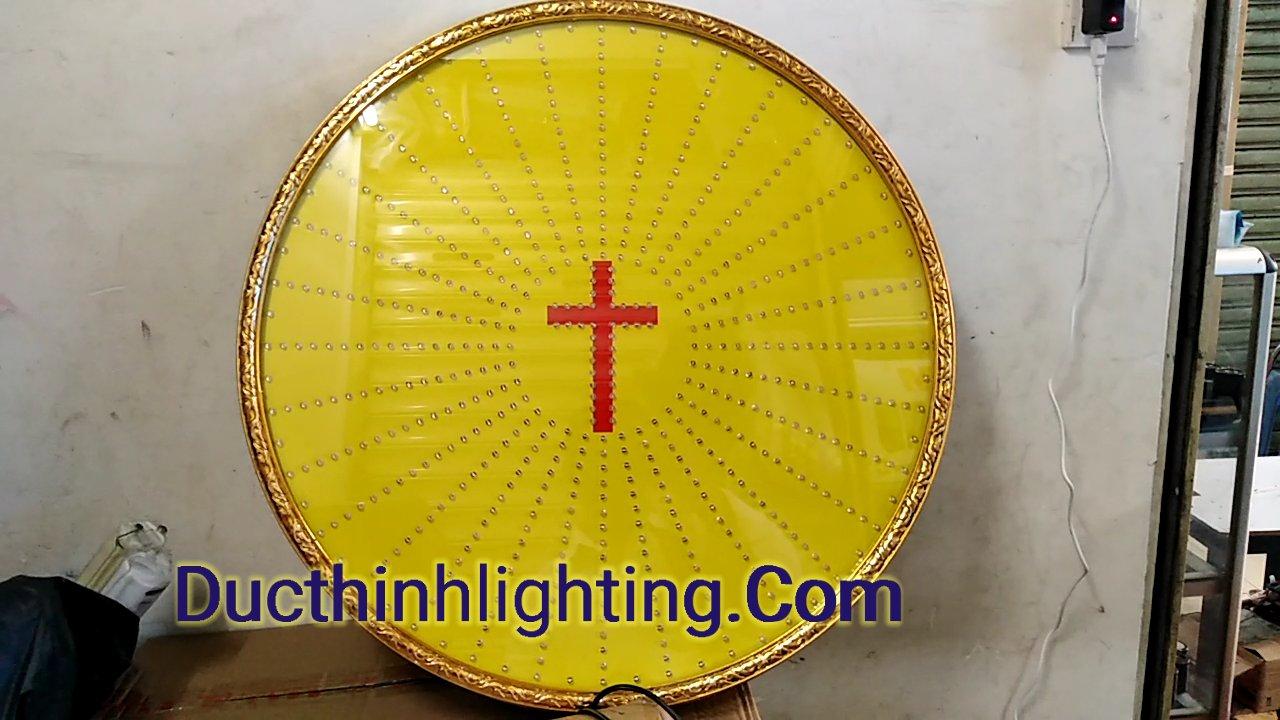 Đèn hào quang led siêu sáng 6t thánh giá