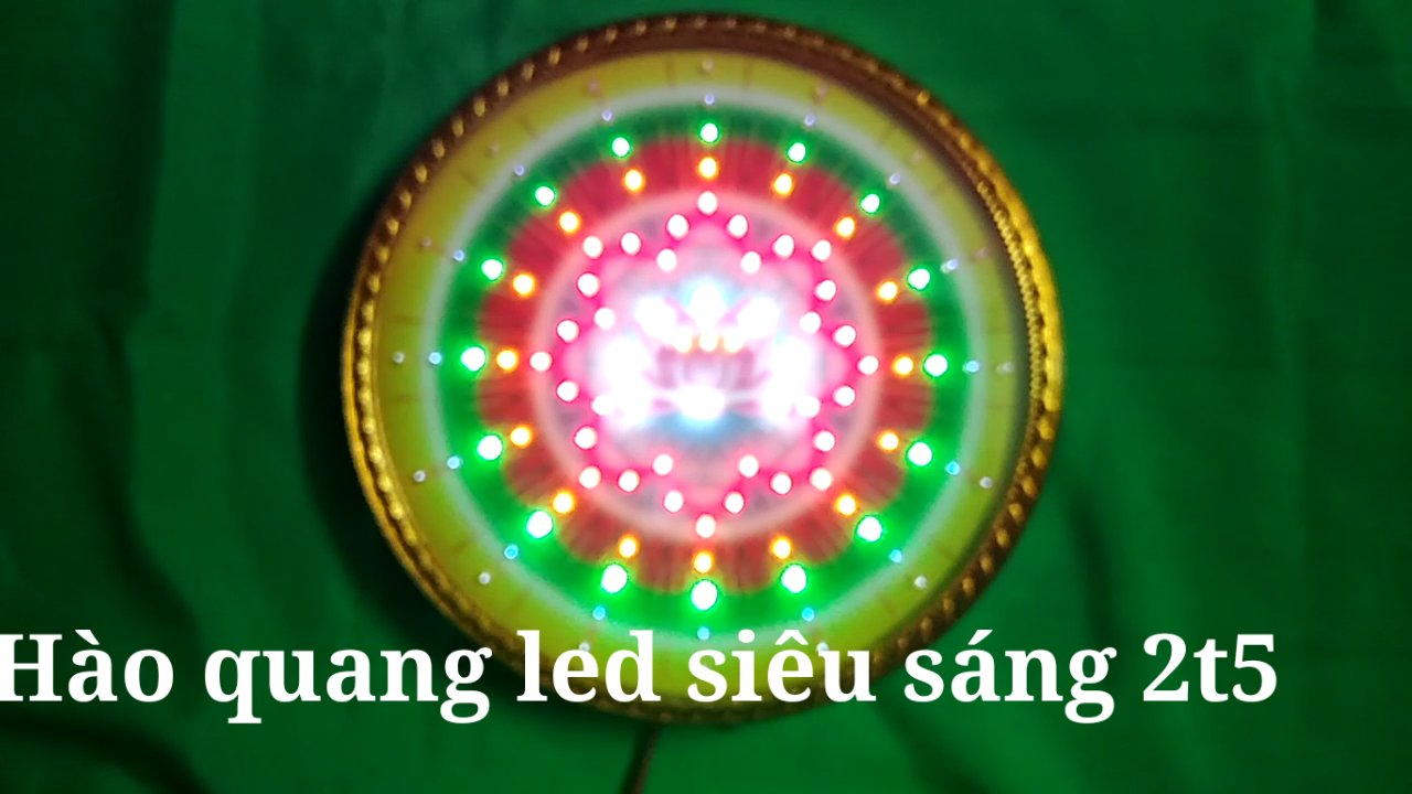 Hào quang led đủ kích cỡ nhỏ lớn