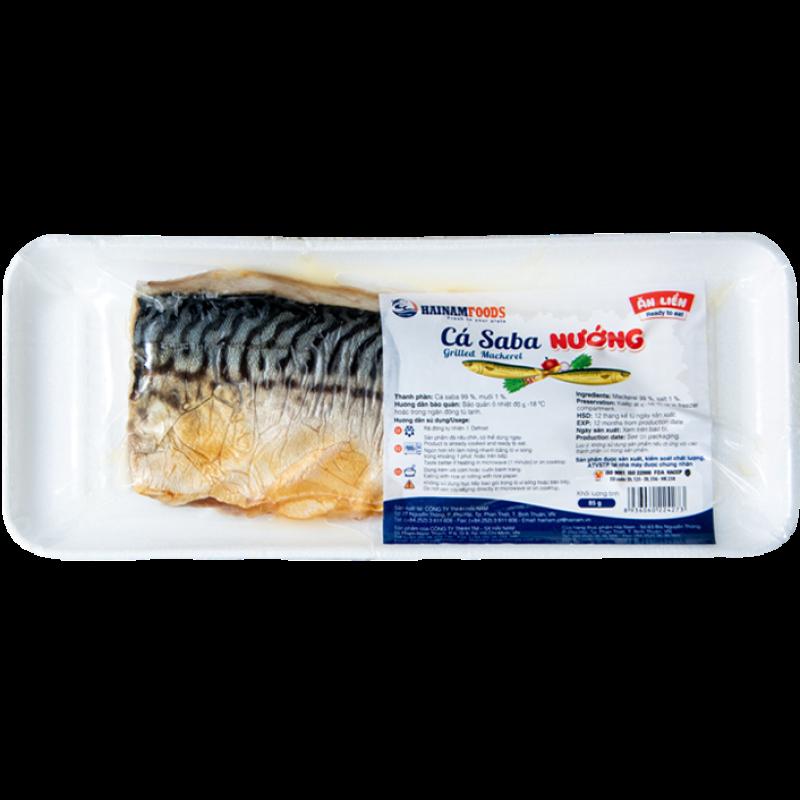 Cá Saba Nauy Nướng - Hải Sản Sạch Phan Thiết Uy Tín Chất Lượng