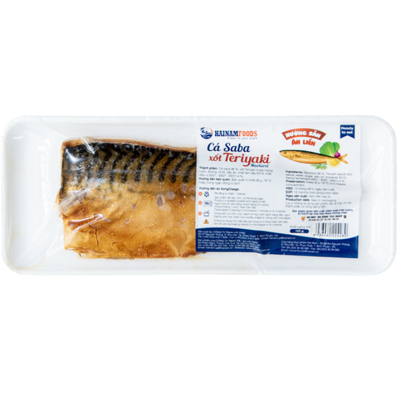 Cá Saba Nauy Nướng Xốt Teriyaki - Hải Sản Sạch Phan Thiết