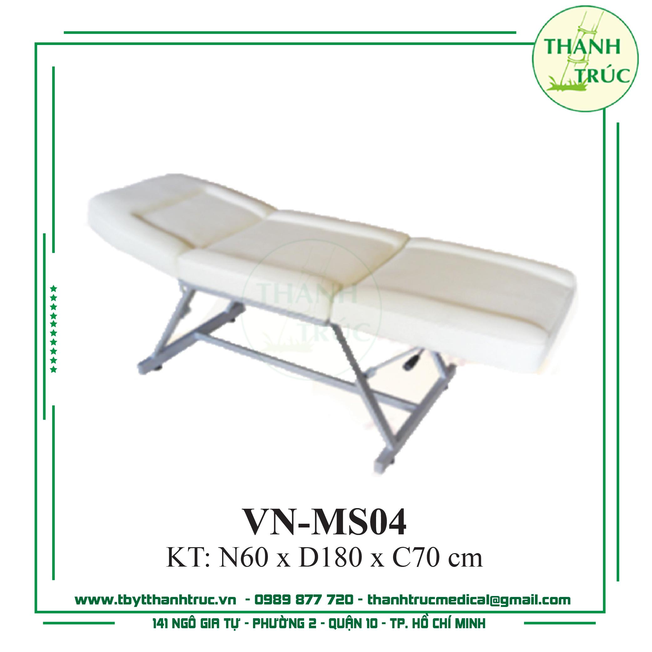 GIƯỜNG MASSAGE SẮT VN-MS04