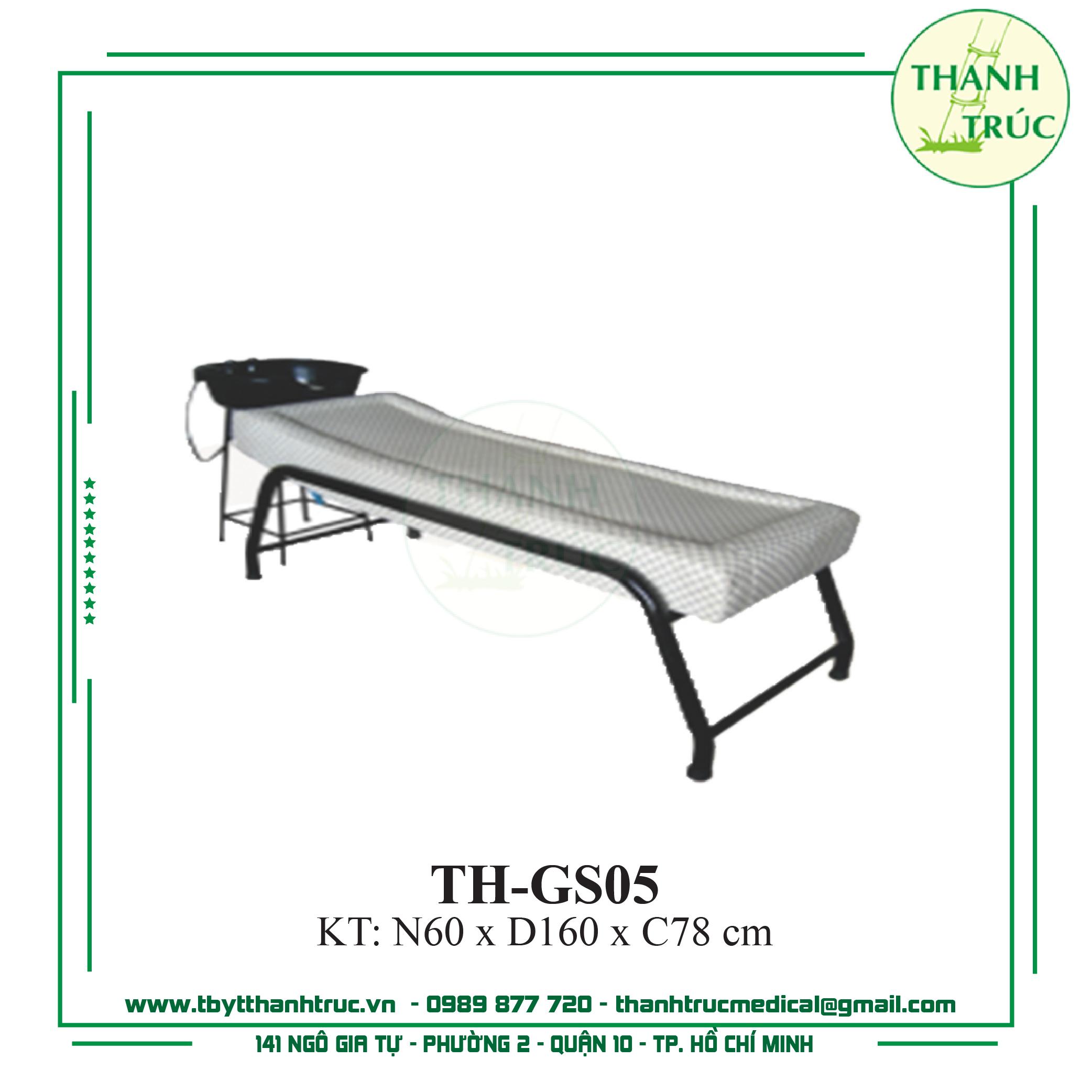 GIƯỜNG MASSAGE SẮT TH-GS05